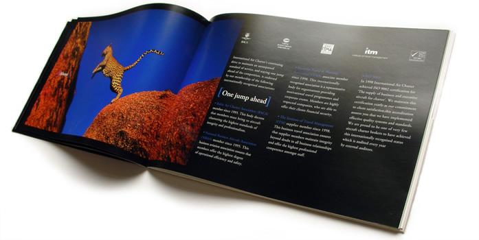 Brochures. Designed and Printed in Dubai (UAE)