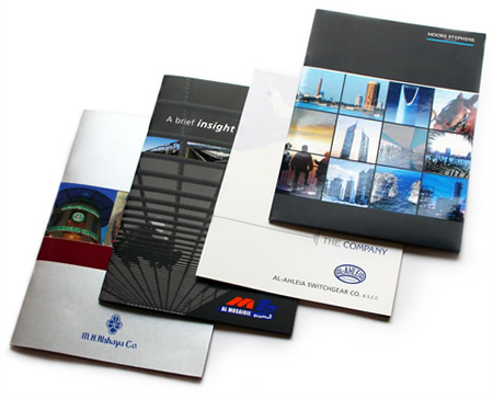 Corporate Brochure Design & Printing. Dubai, UAE